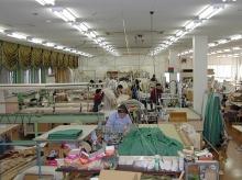 素敵なカーテン♪--Blog---工場内1