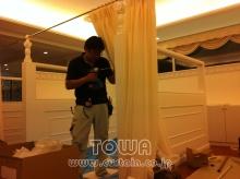 素敵なカーテン♪--Blog---2重カーテン
