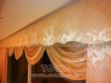 素敵なカーテン♪--Blog---スワッグバランス