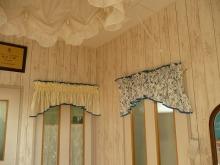 素敵なカーテン♪--Blog---玄関