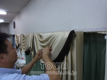 素敵なカーテン♪--Blog--
