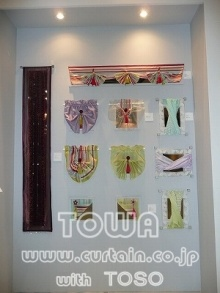 素敵なカーテン♪--Blog---小窓