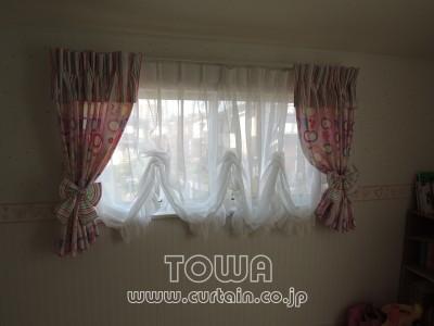 バルーン風カーテン