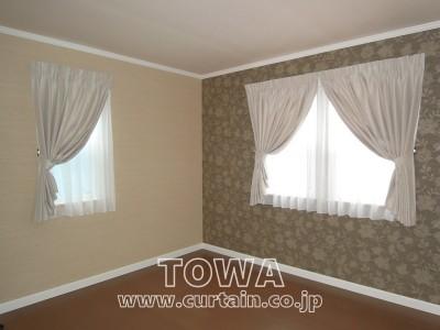 寝室遮光カーテン