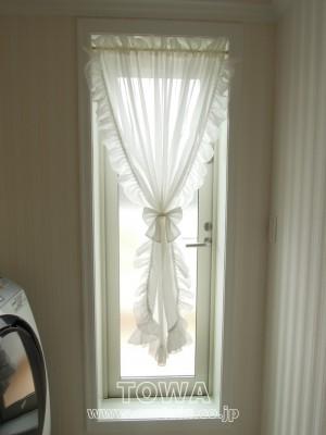 フリルカーテン