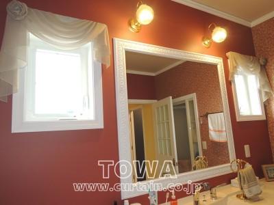 洗面所の小窓