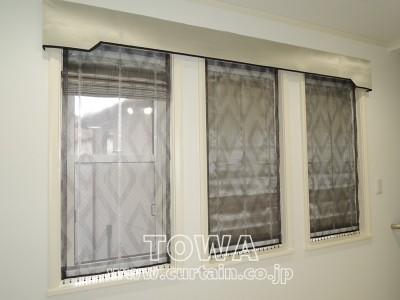 3連窓の施工