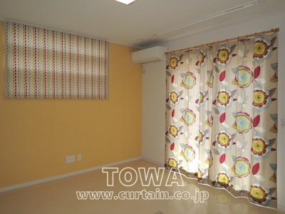 北欧調のカーテン