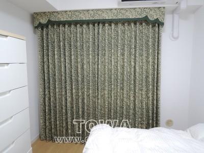 ウィローボゥのカーテン