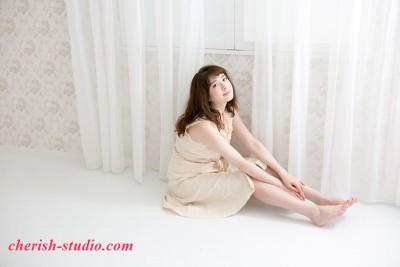 白いカーテン