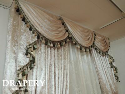 ベルベットのカーテン