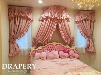 ピンクのキャノピー