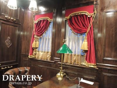 書斎のカーテン