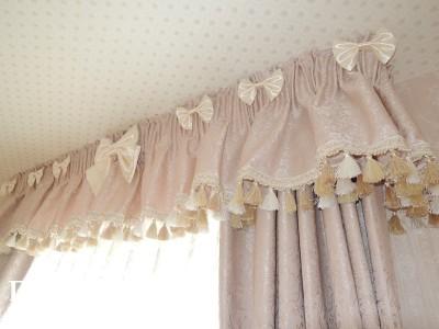 リボンのカーテン