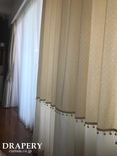 掃き出し窓おカーテン
