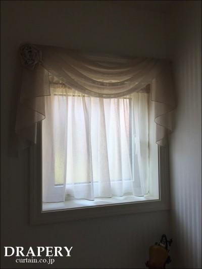 小窓の上飾り