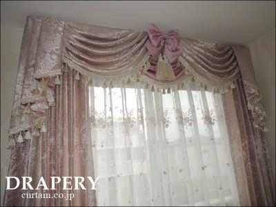 プリンセス系のカーテン