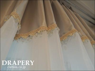 エレガントなカーテン