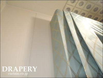 防音室のカーテン