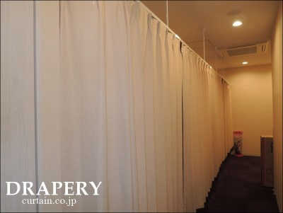病院のカーテン