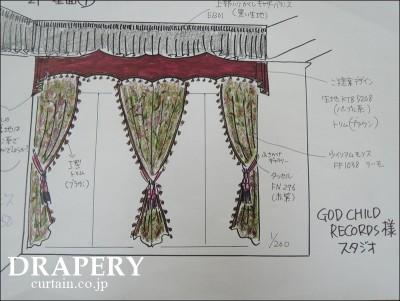 バッドマンのカーテン
