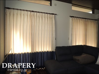 切替えカーテン