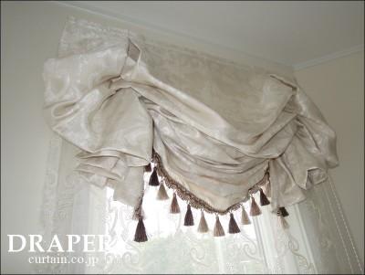 ゴージャスなカーテン