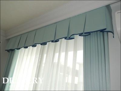 ホテルライクなカーテン