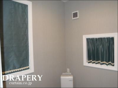 キャットルームのカーテン