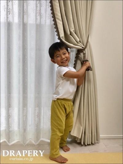 可愛いカーテン