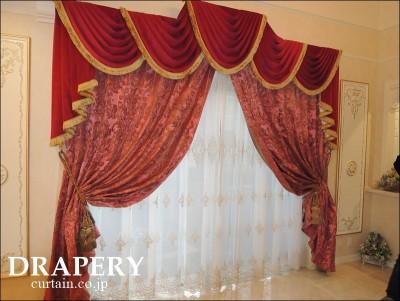 宮殿のカーテン