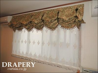 ウイリアムモリスのカーテン