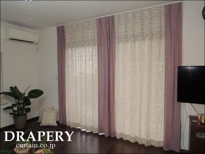 ピュアモリスのカーテン
