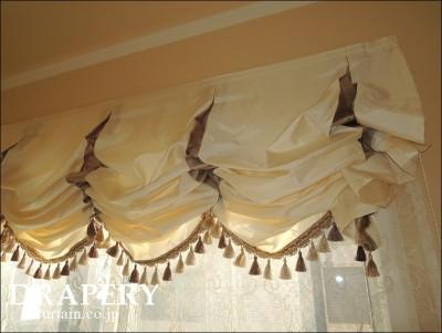 海外風のカーテン