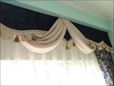 お城系カーテン
